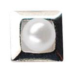 Jewelry-Nail LittlePretty LP-AST-0001 3Dスタッズスクエア2スカシ アソート シルバー