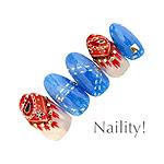 Naility! ステップレスジェル 124 ラメコバルトブルー 7g
