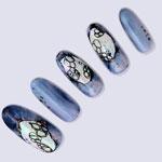 TSUMEKIRA ネイルシール 藍rishプロデュース1 墨枝 黒 NN-IRI-102